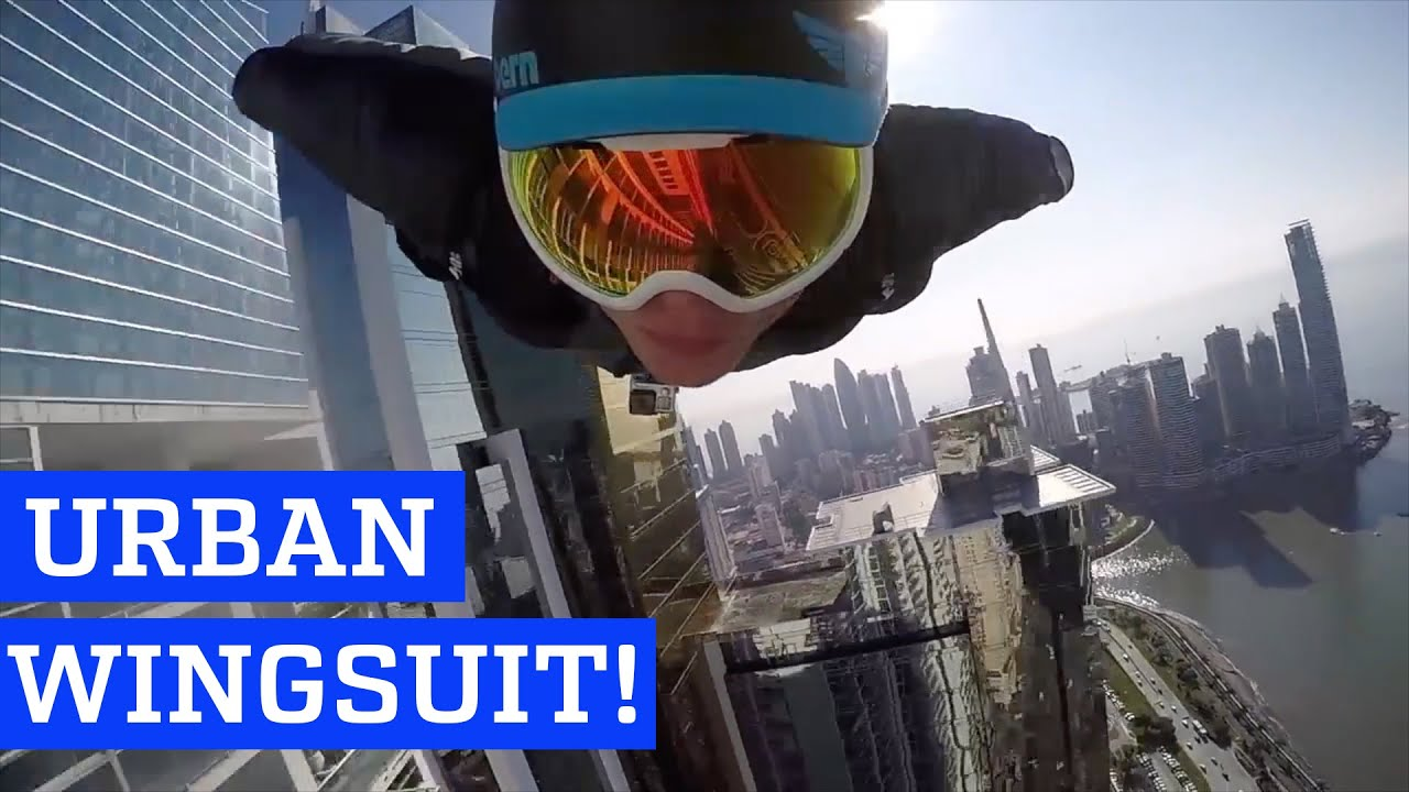 Urban Wingsuit Flying by Skyscrapers | PEOPLE ARE AWESOME
