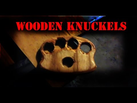 """wooden knuckles - Quick Build #2 + the """"Exoti-Bat"""""""