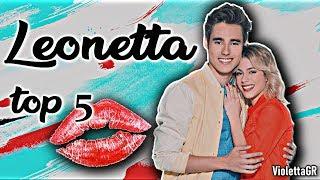 Top 5: Leonetta's Kisses