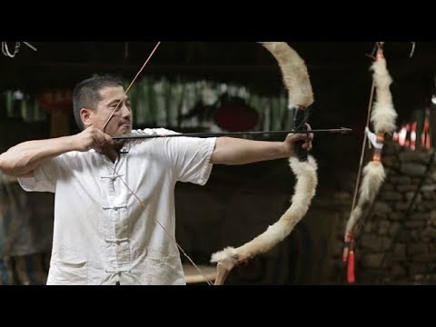 Chinese Ancient Deadliest Weapons- How to make military bows | More China