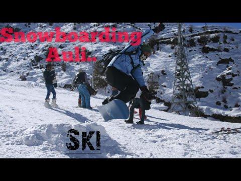 Auli 2020 ski snowboarding uttrakhand (India) GoPro hero 9