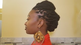 Download Requested Loc Style Tutorial: Short To Medium Locs Mp3 and Videos
