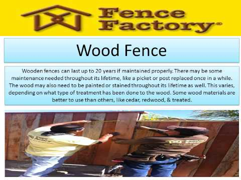 Fence Factory supplies