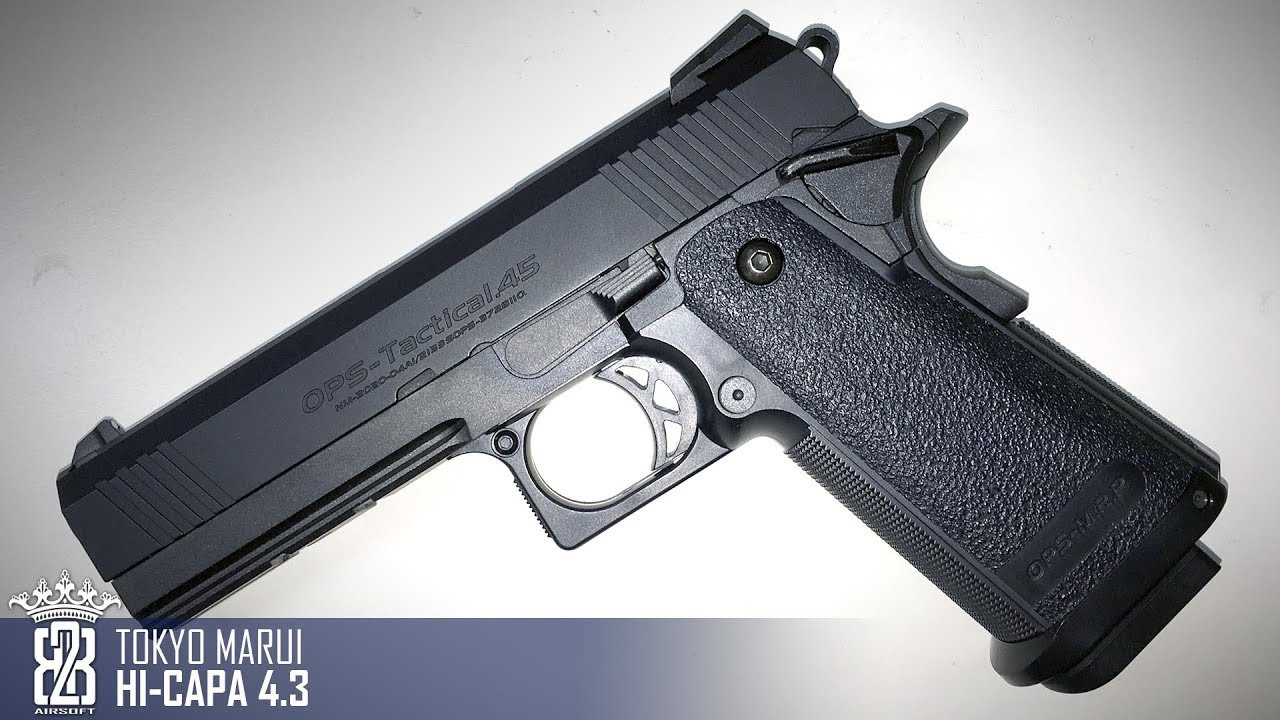 The hi-capa is basically a modified 1911. Wider magazine well, fatter grip, a bit of a fancier look. And if you're looking at the hi-capa 5. 1, expect some very good.