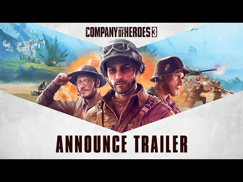 Company of Heroes 3 - Announce Trailer