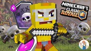 *클래시로얄 상황극* '무덤'이 왕창 떨어졌다!? 성을 지켜라!! | 마인크래프트(마크) 클래시로얄 | Minecraft Clash Royale | #3 | [최케빈]