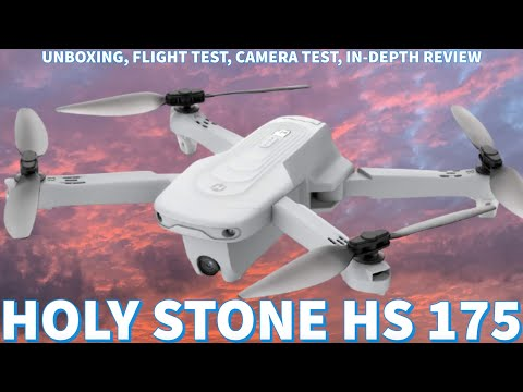 Holy Stone HS 175 Drone Review | Camera Test, Flight Test, Unboxing