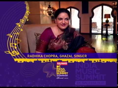 #ArtistSpeak: Radhika Chopra At The Raymond MTV India Music Summit 2019