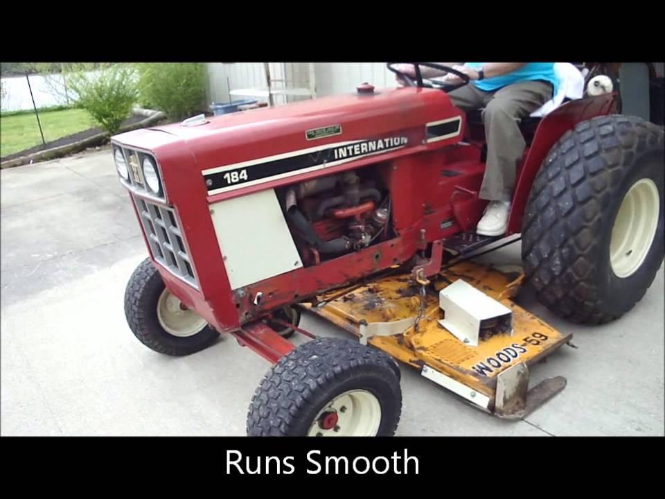 International Harvester 184 Lo Boy Farm Tractor ... on