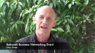Babareki Business Netwoking events Testimonial- Garry Gnapp