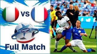 Italy vs France 0 3 Femenino Danone Nations CUP U12 2019