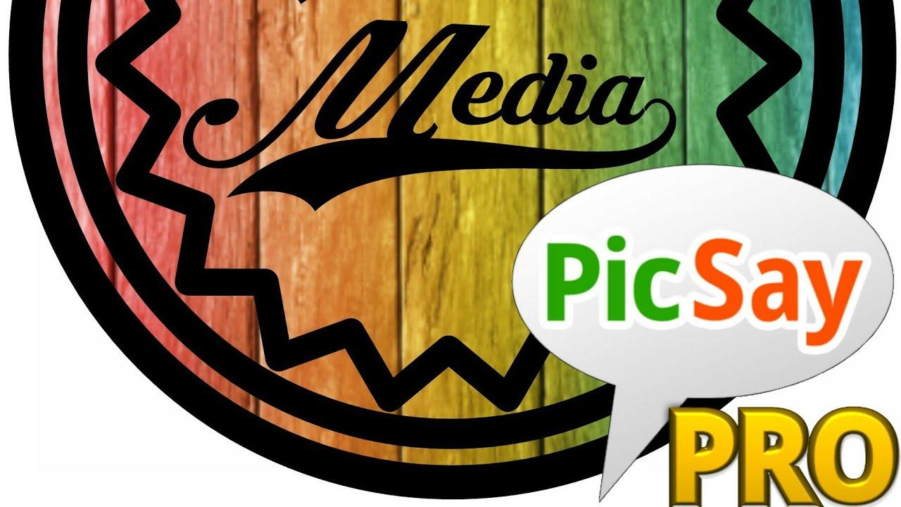 Picsay pro - tutorial cara dsain logo background keren ...
