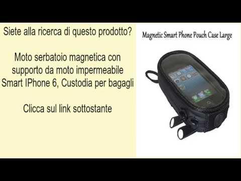 c2c3647d888 Moto serbatoio magnetica con supporto da moto impermeabile Smart IPhone 6