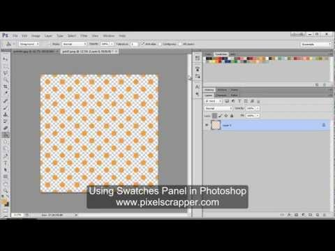 Using The Swatches Panel In Photoshop