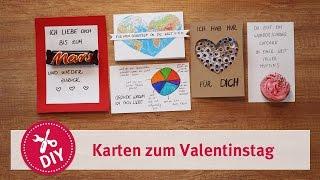 Grußkarten zum Valentinstag - mydays DIY