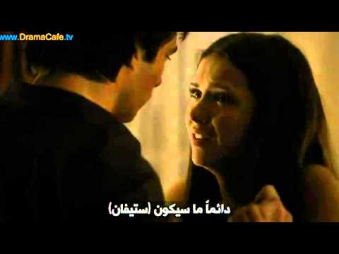 2x01 Damon kisses Elena by force: Damon kisses Elena by force. She told him that she cares about him but she loves Stefan and that she'll always love him.