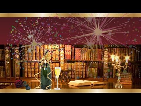 С днём рождения! видео открытка/ красивое поздравление. флэш flash анимация