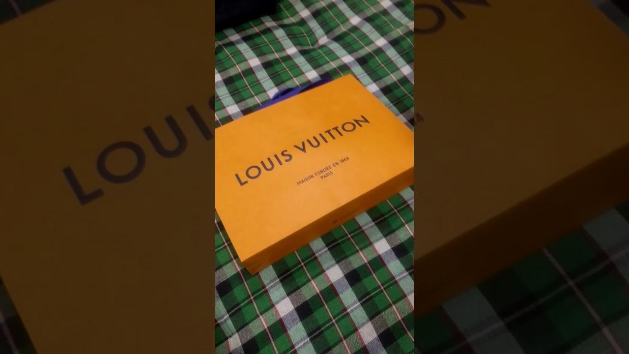 161ba2390c97 Unboxing LOUIS VUITTON Menz Amerigo wallet - YouTube