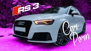 Audi RS3 8V   Car Porn   Winter Edition