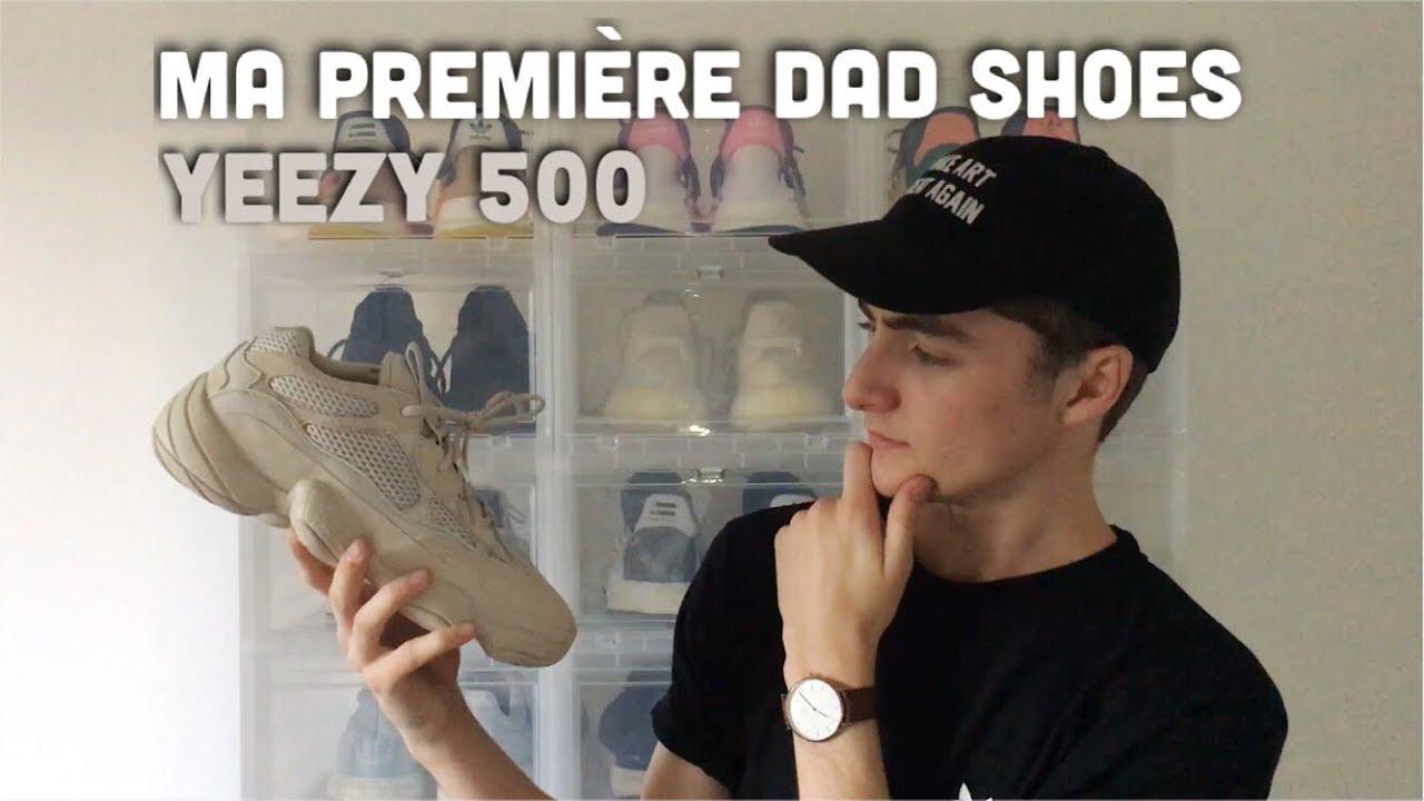 529c9009d Ma première DAD Shoes ! Review Yeezy 500 Desert Rat Blush + avis  FR ...