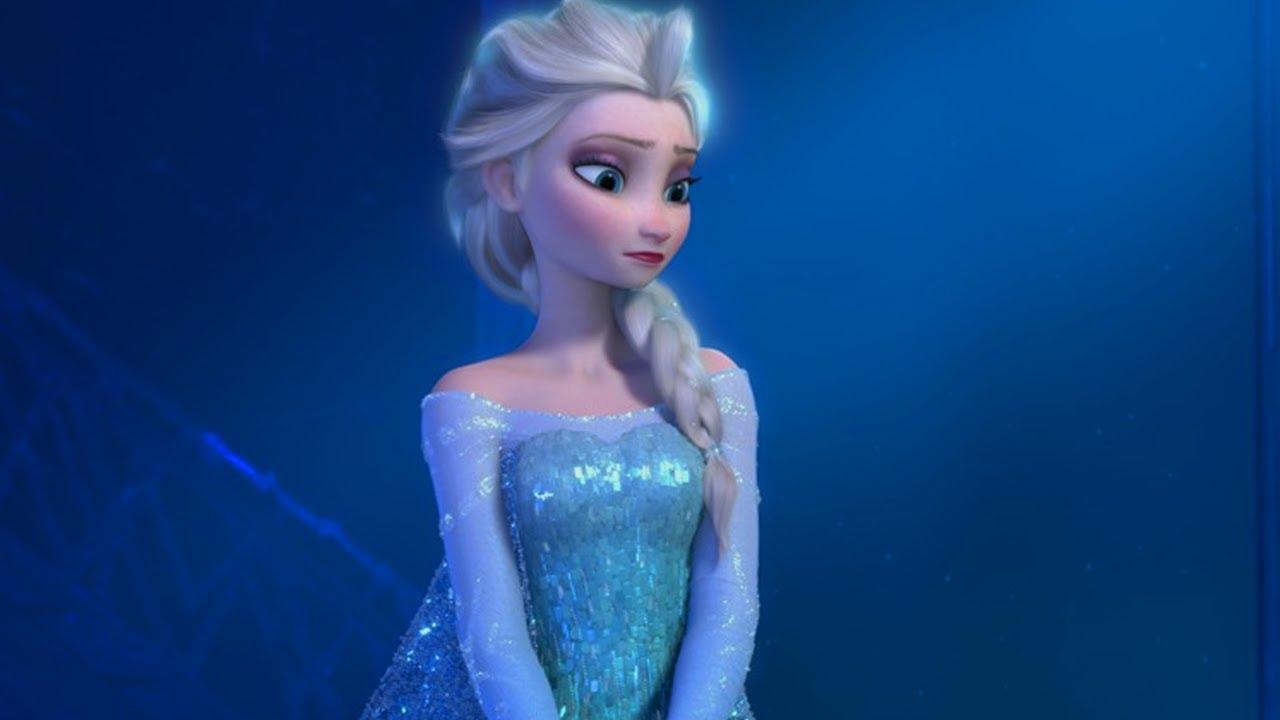 холодное сердце эльза в снегу фото так медленно-медленно повернулся