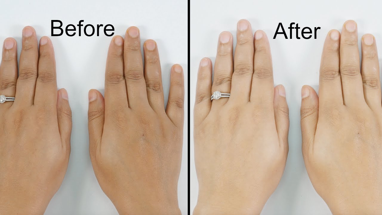 Get Fairer, Soft & Wrinkle Free Hands and Feet At Home in 15 Minutes -  YouTube