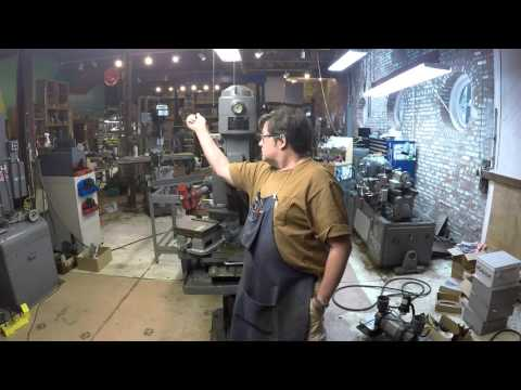 Alzmetall Drill Press Vise Repair #1