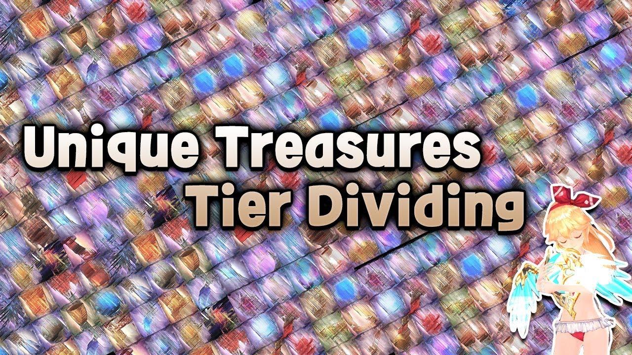 Kings Raid Tier List 2020.King S Raid 킹스레이드 キングスレイド Unique Treasures Tier List Re Uploaded