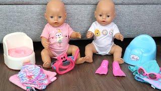 Беби Бон Двойняшки Идут В Бассейн Мультики для детей Как Мама Играла в Куклы Пупсики 108мама тв
