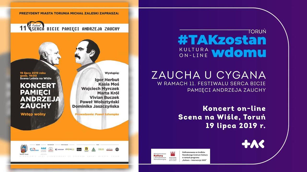 """Polecane wideo: #TAKzostanwdomu — koncert """"Zaucha uCygana"""""""