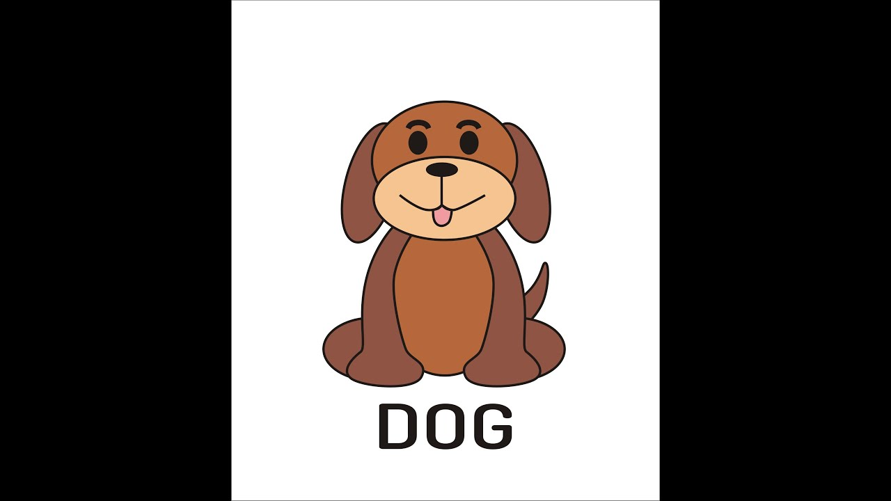 How To Draw A Simple Dog Using Coreldraw