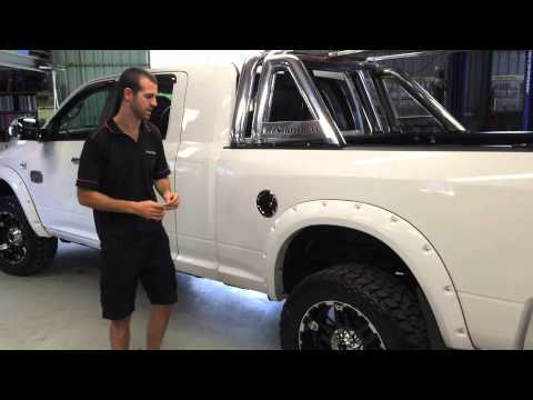 Trucks N Toys Australian Dodge Ram Accessories Chrome