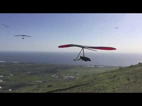 Ala Delta La Asomada Lanzarote Hang Gliding 22nd Open dec.  2018