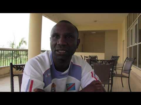 Florent Ibenge Ikwange évalue le démarrage du stage des Léopards à Mbankomo (Cameroun)