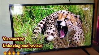 Vu Ultra Smart LED TV 32 inch unboxing and review