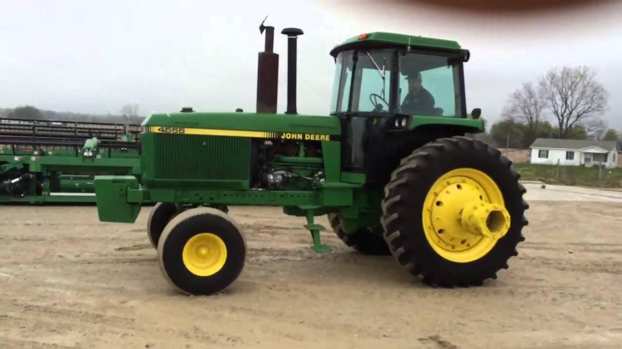 Big Iron Online Auction John Deere 4555 May 6 2015