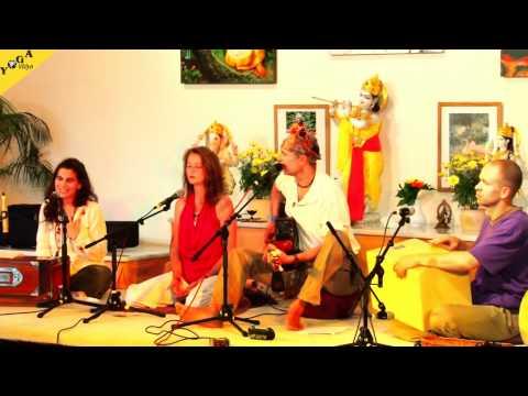 Gayatri , Jaya Sitaram, Hare Krishna and More - Morning Concert during Yoga Vidya Music Festival