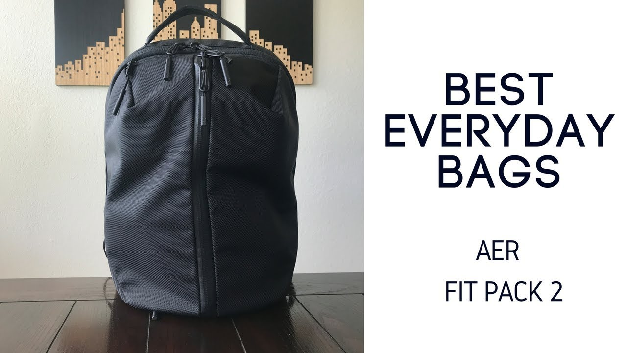 edfa209d16ee Best Daily Bags  Aer Fit Pack 2 Review - YouTube