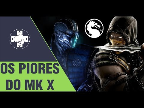 MORTAL KOMBAT: OS 5 PIORES FATALITIES DO MK X thumbnail