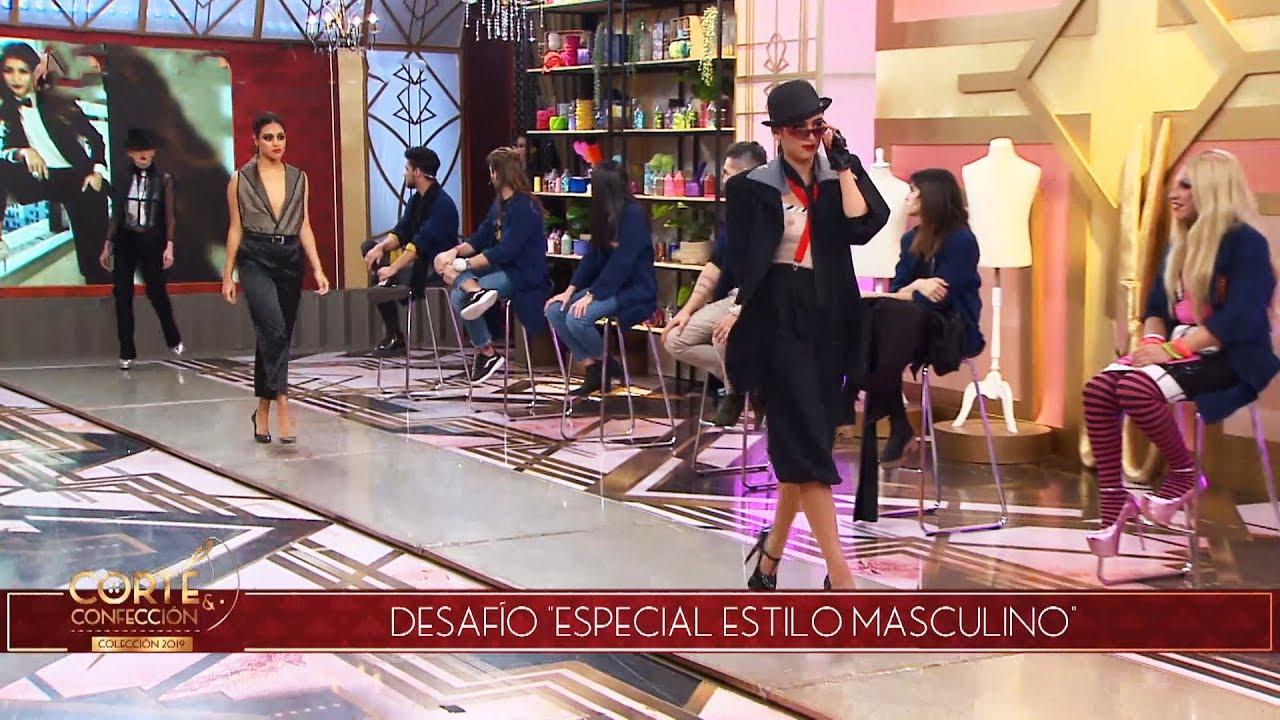 Corte y confección - Programa 20/05/19 - Desafío: Moda masculina para mujeres