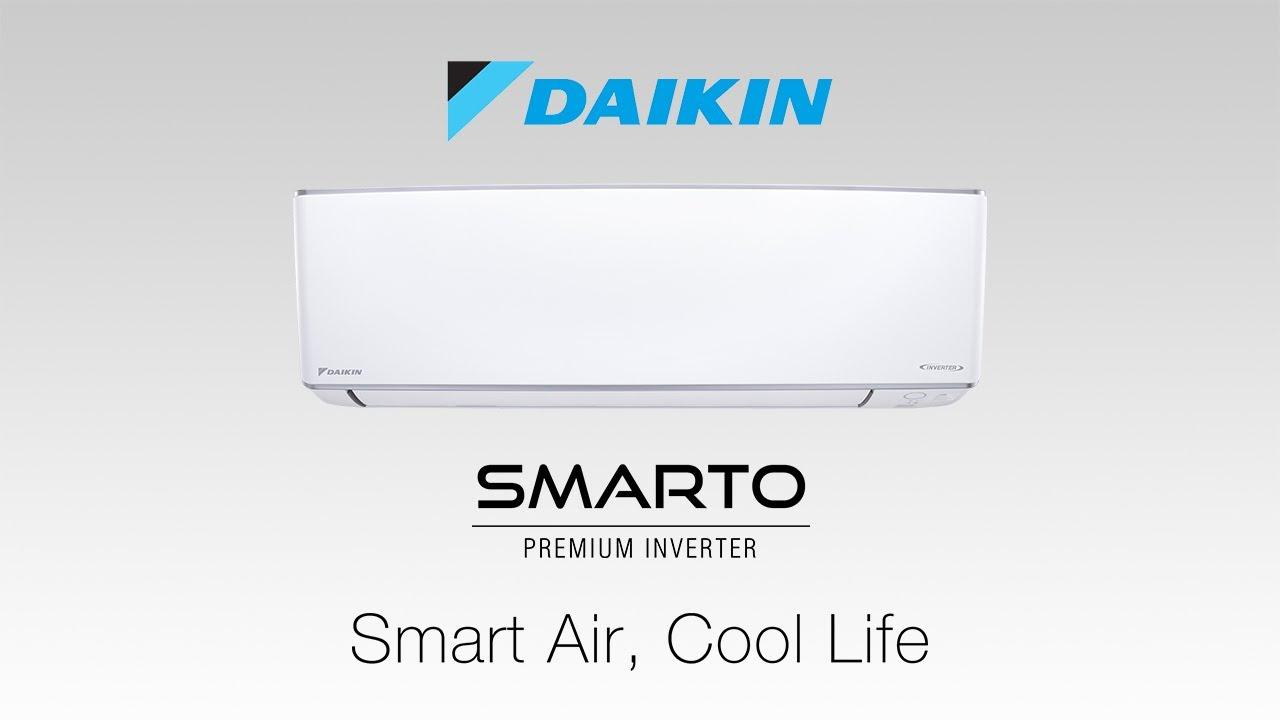 Daikin SMARTO Premium R32 Inverter   Smart Air, Cool Life