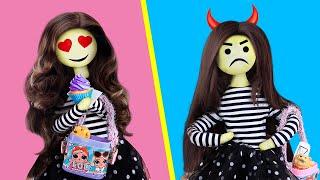 15 DIY Emoji Doll Hacks And Crafts