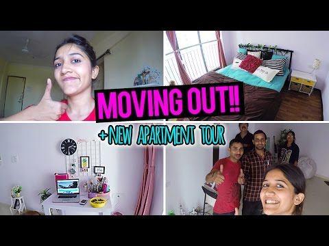 Moving Out AGAIN!!  + NEW APARTMENT TOUR   Vlog