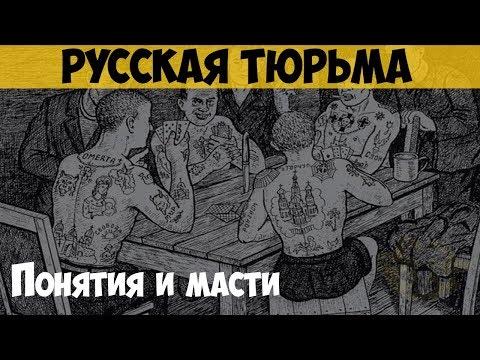 Русская тюрьма. Понятия и масти. Неписанные законы тюрьмы