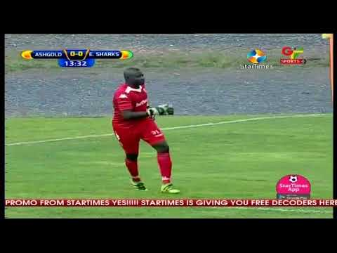 Ashgold SC vs Elmina Sharks FC 1st half wmv