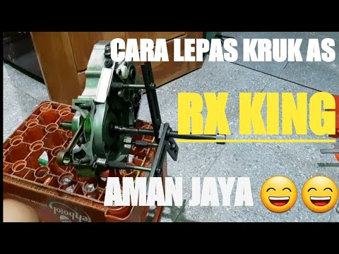Rx King, Cara Lepas Kruk As Rx King