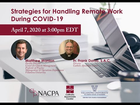 Strategies for Handling Remote Work During COVID-19