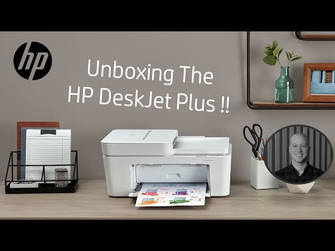 HP DeskJet Plus Unboxing