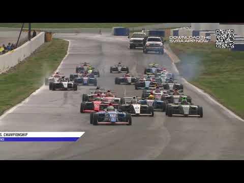 Full Race Replay: F4 U.S. Drivers Battle The Elements In Road Atlanta Finale (Race 3)