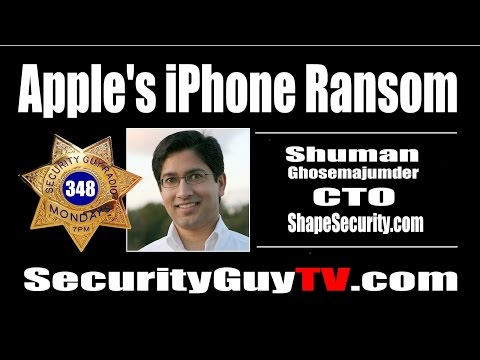 #348 Apple's iPhone Ransom with Shuman Ghoesmajumder